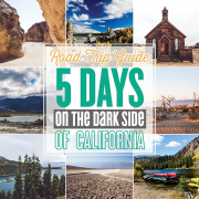 Road Trip Guide 5 days on the dark side of California_pin