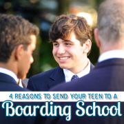 4 reasons to send your teen to a boarding school