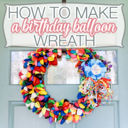 How to Make a Birthday Balloon Wreath