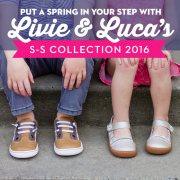 Put a Spring in your Step with Livie & Luca's S-S Collection 2016