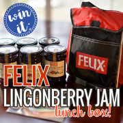 Win It - Felix Ligonberry Jam Lunch Box V2