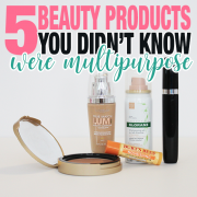 5 Beauty Products You Didn't Know Were Multipurpose
