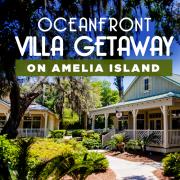 Oceanfront villa getaway on Amelia Island