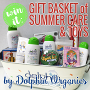 Win It - Gift Basket of Summer Care and Toys by Dolphin Organics