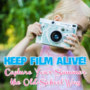 Keep Film Alive! Capture your Summer the Old-School Way