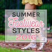 SUMMER FOOTWEAR STYLES 2016