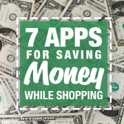 7 Apps for saving money while shopping