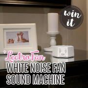 Win It 'LectroFan White Noise Fan Sound Machine