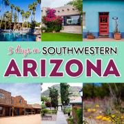 5 days in southwestern AZ