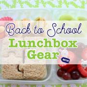 Back to School 2016 - Lunchbox Gear