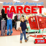 Back to School Shopping With Target 2016
