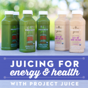 Juicing for energy and health with project juice