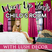 liven up your child's room with lush decor