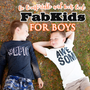 Be Comfortable and Look Cool Fab Kids for Boys
