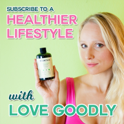 Subscribe to A Healthier Lifestyle with Love Goodly