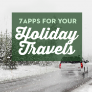 7 Apps for your holiday travels