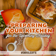 Preparinging your Kitchen for the Upcoming Holiday #dmholiday 2016