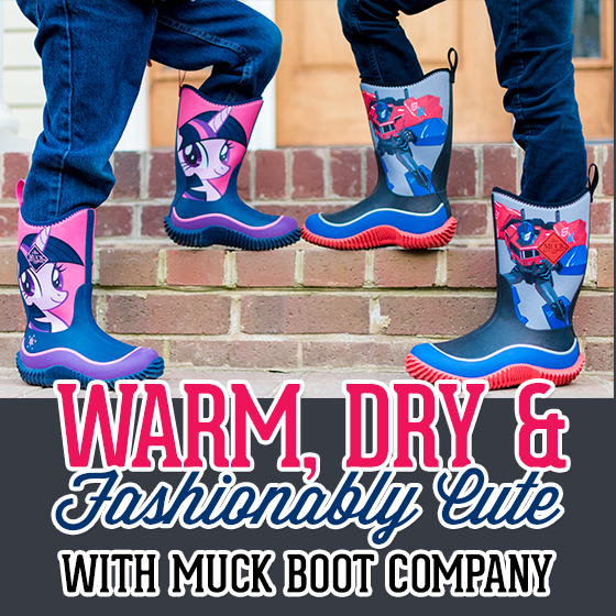 Warm Dry And Fashionably Cute with The Original Muck Boot