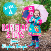 Win It Rain Gear and Toys from Stephen Joseph
