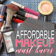 Affordable makeup must haves 1