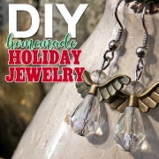 DIY Homemade Holiday Jewelry