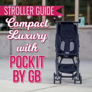 Stroller Guide- Compact Luxury with Pockit by gb_