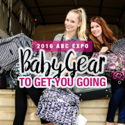 2016 ABC EXPO Baby Gear To Get You Going