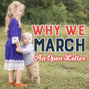 Why We March- An Open Letter