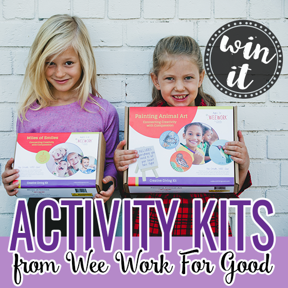 Win It Activity Kits from Wee Work For Good