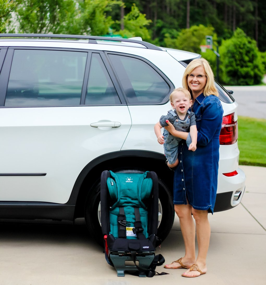 GRANDPARENT CAR SEAT MYTHS DEBUNKED WITH DIONO RAINIER - Daily Mom
