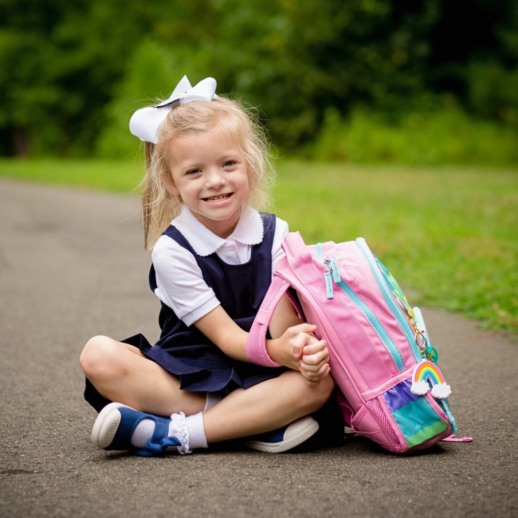 Organized, Uniformed and Ready for Kindergarten