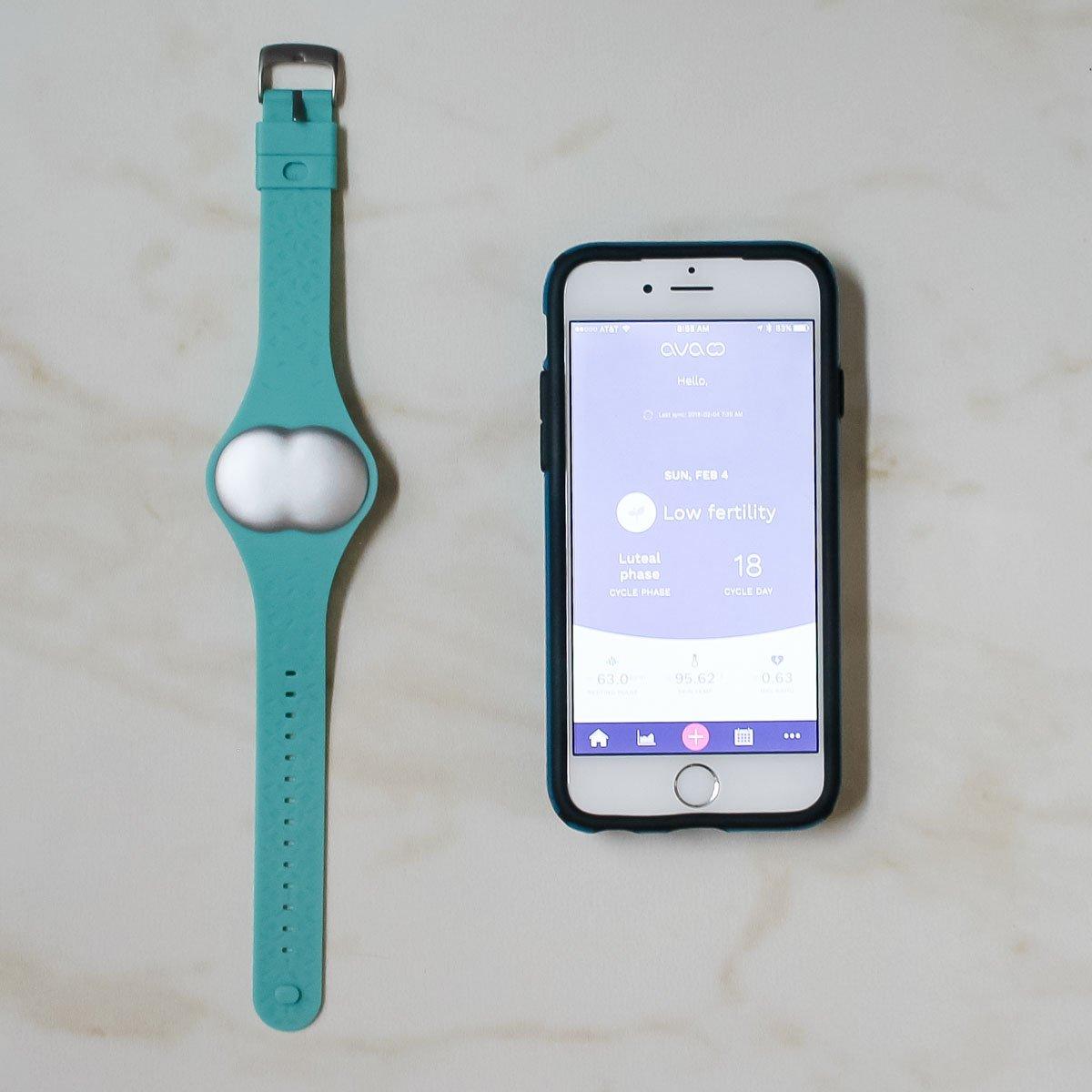 Ovulation tracking bracelet