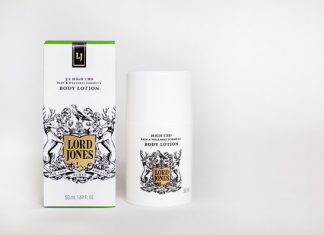 Lord Jones Cannabis Lotion