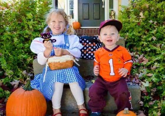 Indulging in Halloween Candy