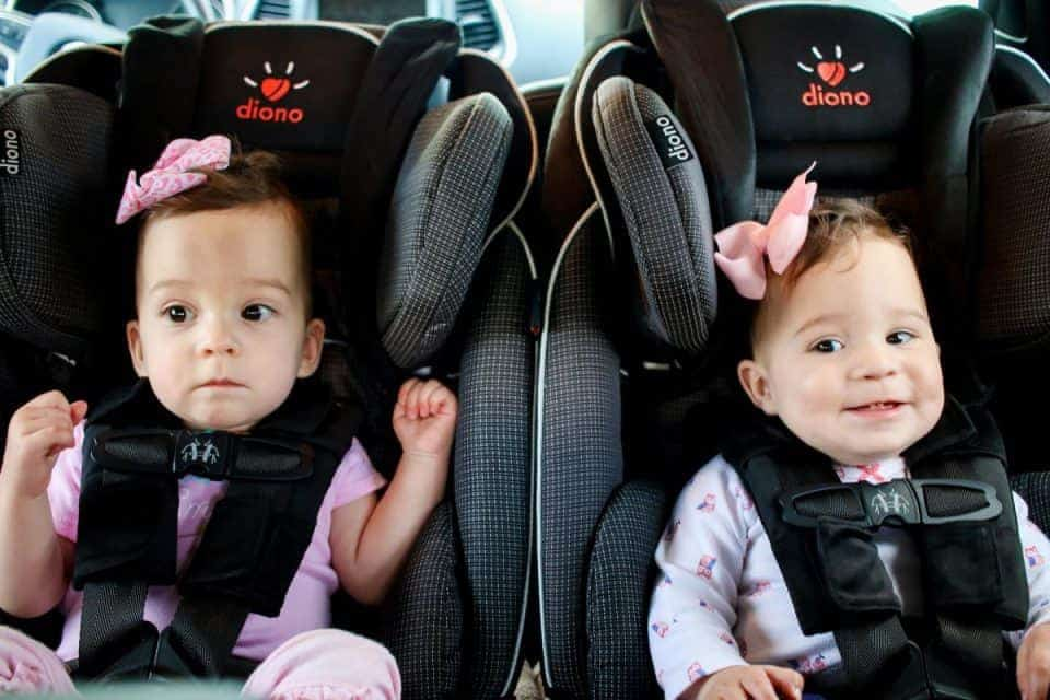 Perfect Car Seats for Twins
