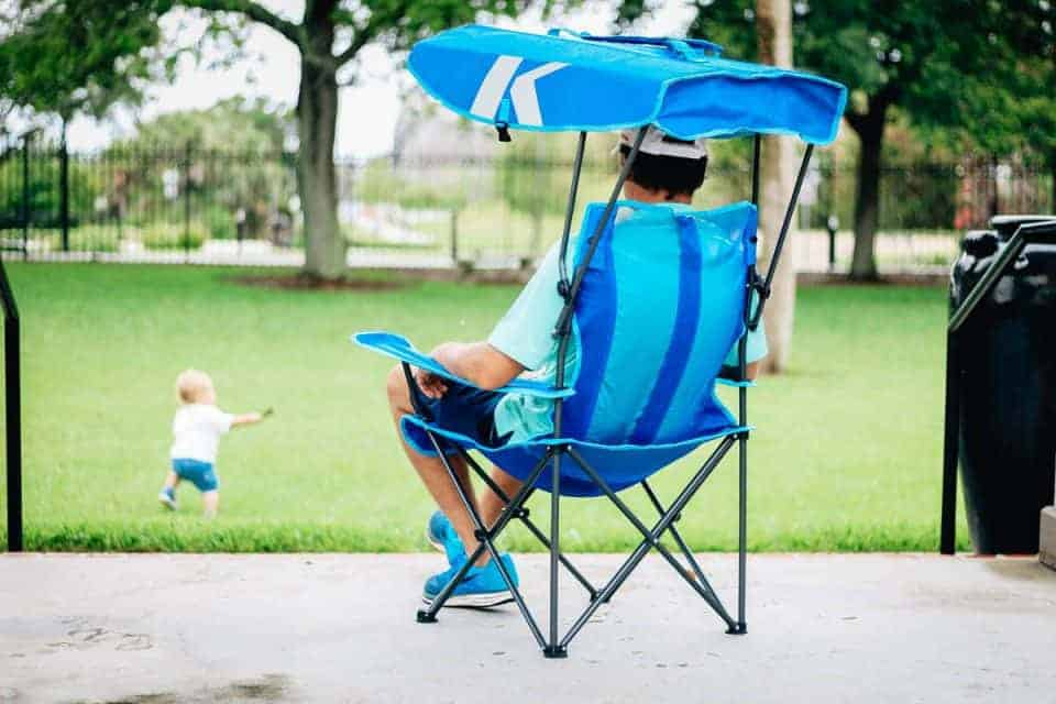 swim ways canopy chair