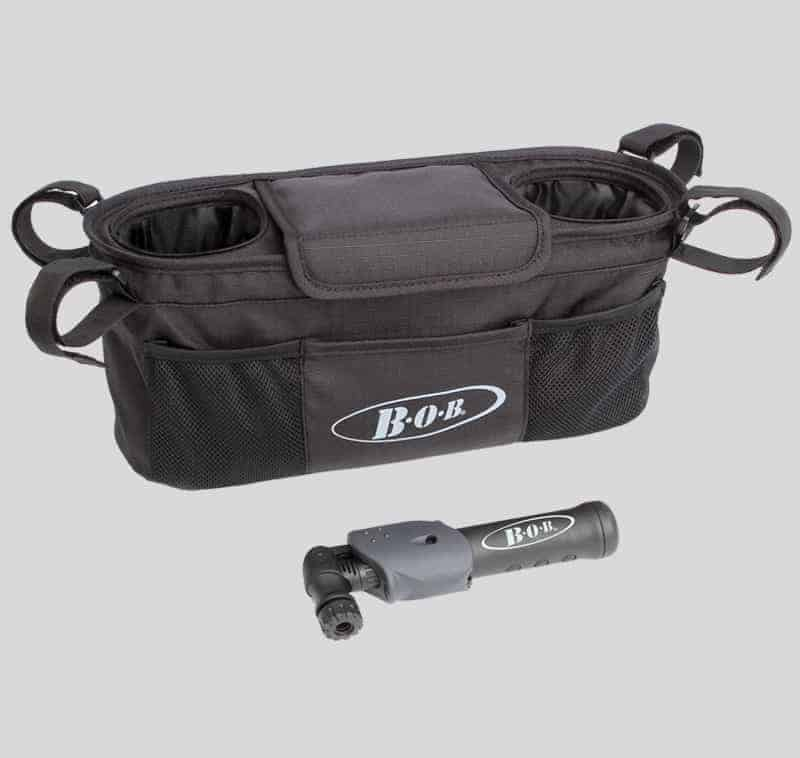 BOB-single-handlebar-console-with-tire-pump-1180