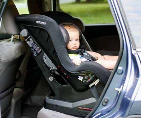 CAR SEAT GUIDE RECARO ROADSTER XL CONVERTIBLE