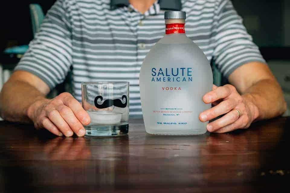 Salute American Vodka Father's Day 1
