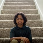Are kids eating their way to mental health – sad child