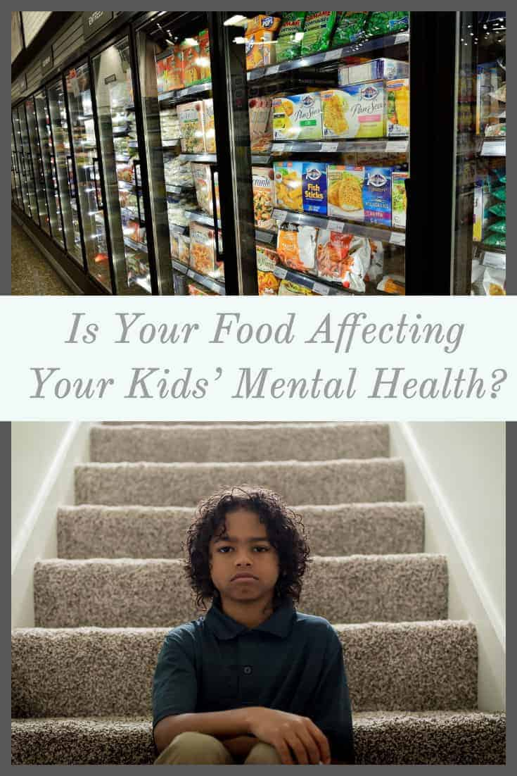 Kids mental health affected by food