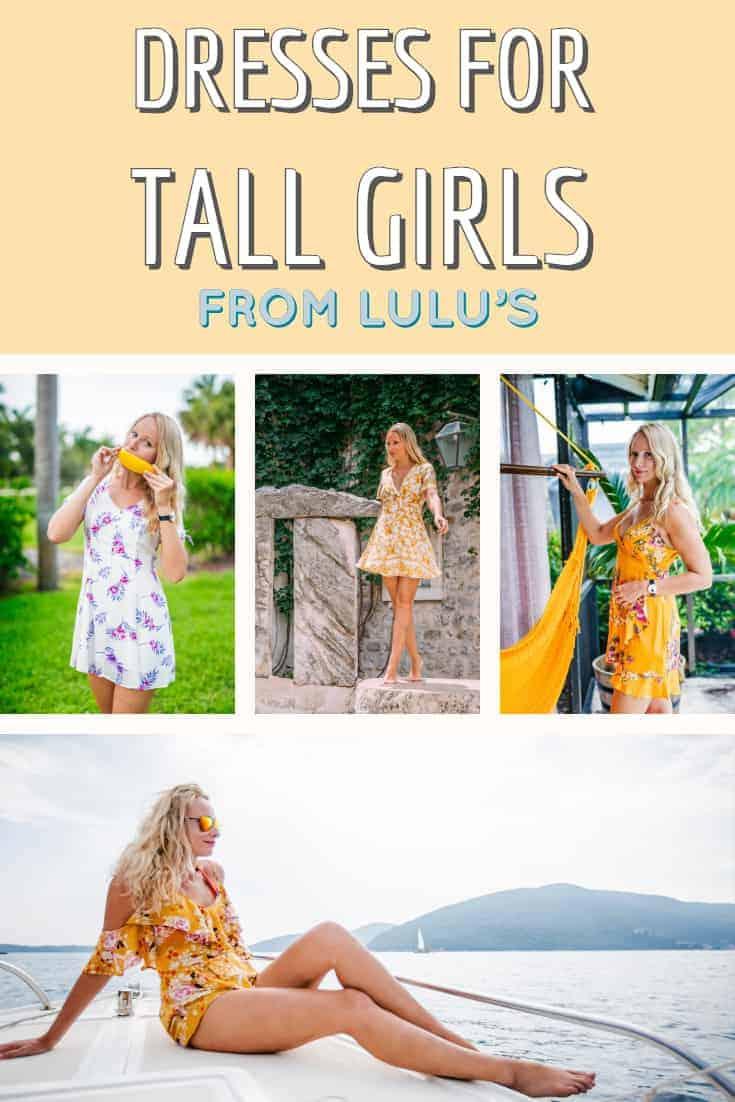 Best Dresses for Tall Girls