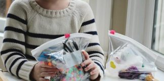 Ten Busy Bag Ideas for Preschoolers
