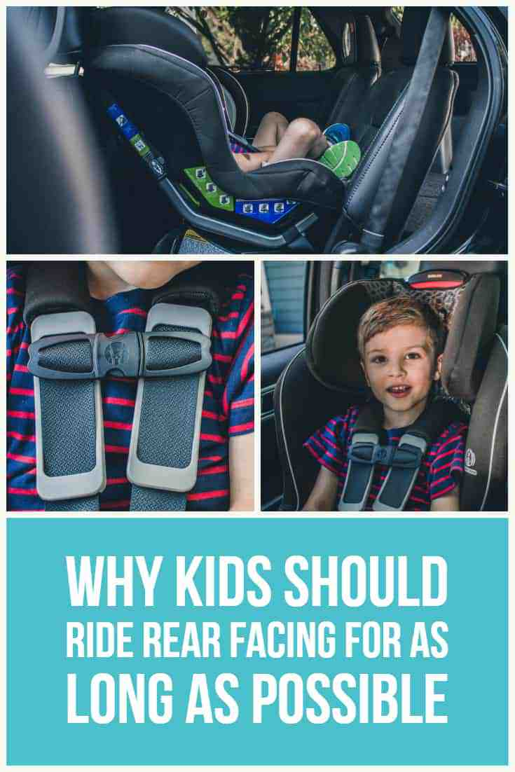 Why Kids Should Ride Rear Facing