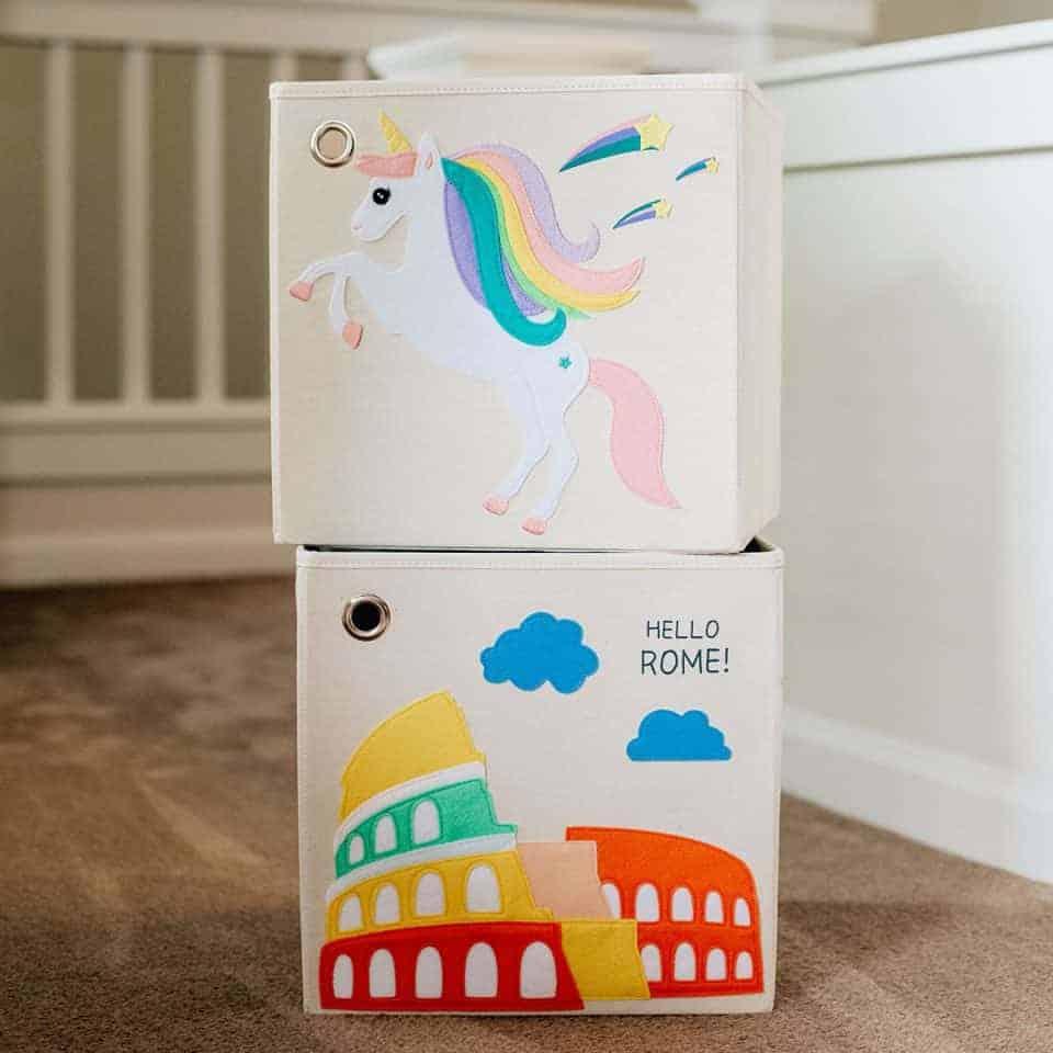 kaikai and ash storage boxes product