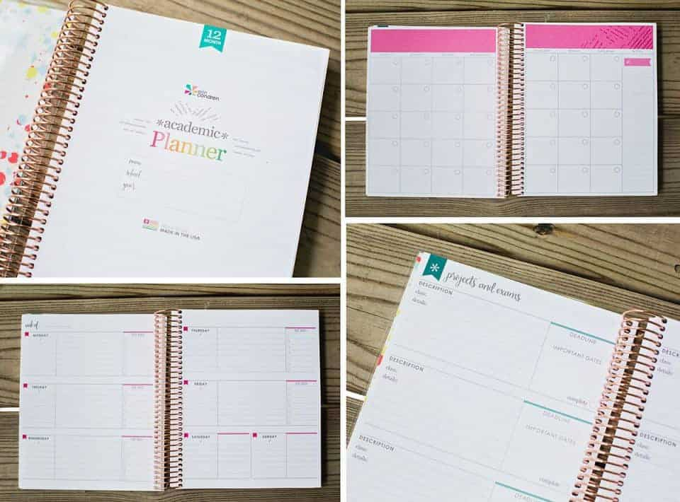 Academic Planner Collage