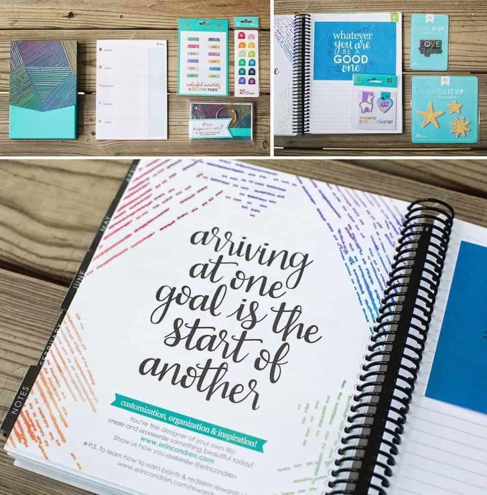 Erin Condren 2018 Life Planner Details Collage