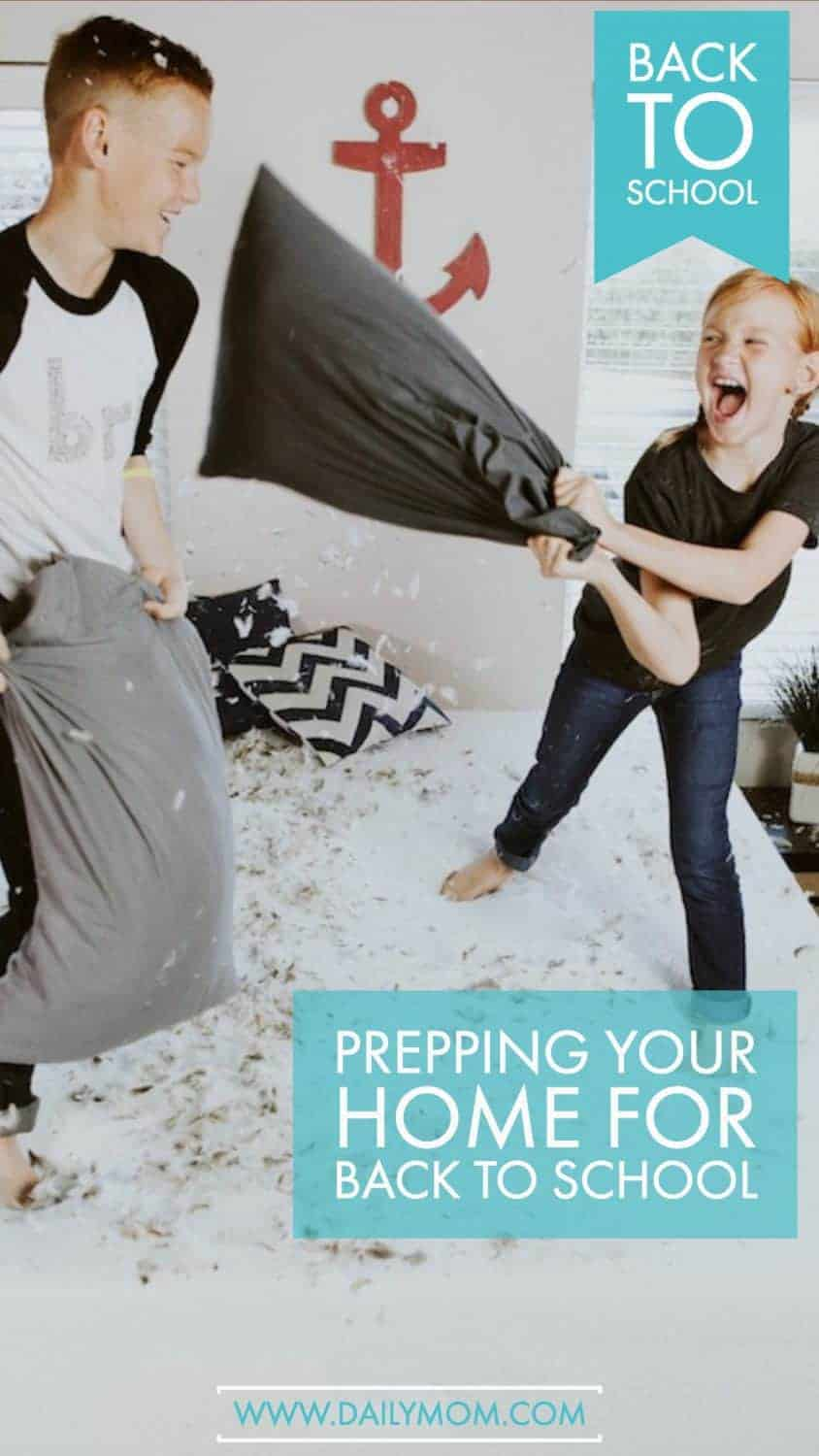Prepping Your Home For Back To School