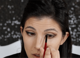 Valentines Day Makeup Smokey Cat Eye