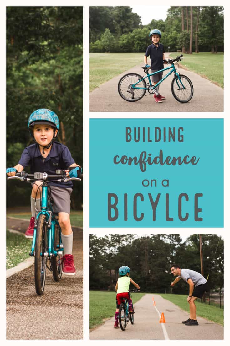 building confidence on a bicycle